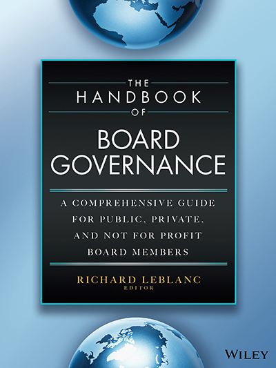 Handbook of Board Governance Cover